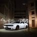 white sports coupe