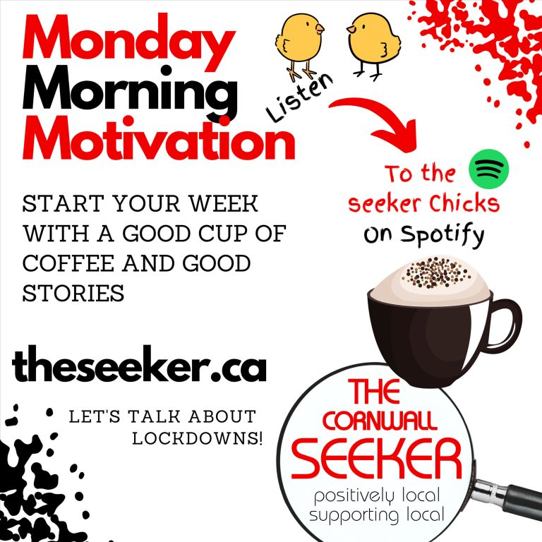 Monday Morning Motivation with the Seeker Chicks – August 23