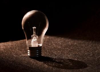 blur bulb close up conceptual